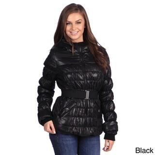 White Mark Women's Puffer Coat