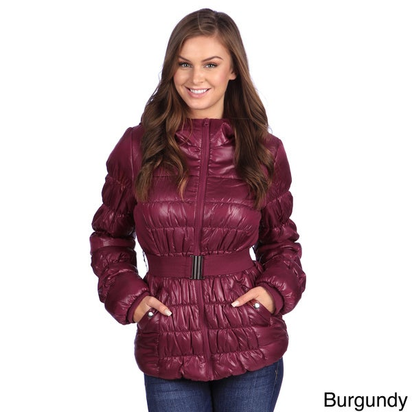 White Mark Women's Puffer Coat - Free Shipping Today - Overstock ...