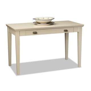 White Hardwood Laptop Desk