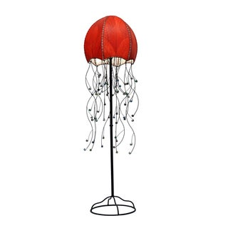 Red Jellyfish Floor Lamp (Phillipines)