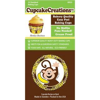 Standard Baking Cups - Monkey Business