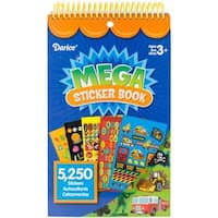 Mega Sticker Book 9.5 X6  - Boy 5,250/Pkg