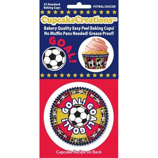 Standard Baking Cups - Soccer