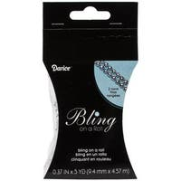 Bling On A Roll 4mm X 5yds - 2 Row, Silver