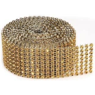 Bling On A Roll 3mm X 2yds - 8 Row, Gold|https://ak1.ostkcdn.com/images/products/8382627/P15686551.jpg?impolicy=medium