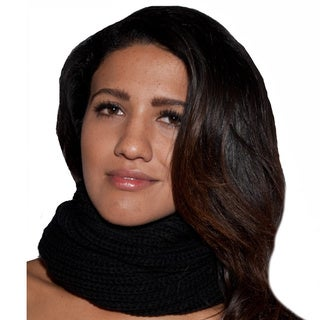 Handmade Solid Color Cowl Scarf (Nepal) (2 options available)