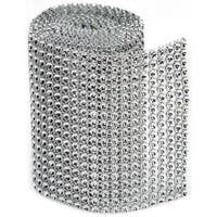 Bling On A Roll 3mm X 1yd - 18 Row, Silver
