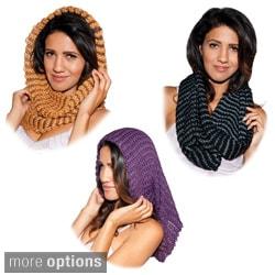 Handmade Boho Acrylic Knit Scarf/ Neck-warmer (Nepal)