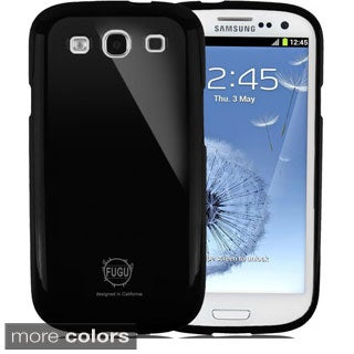 FUGU Gear Samsung Galaxy S3 Slim Fit Pearl Jelly Flexible TPU Case