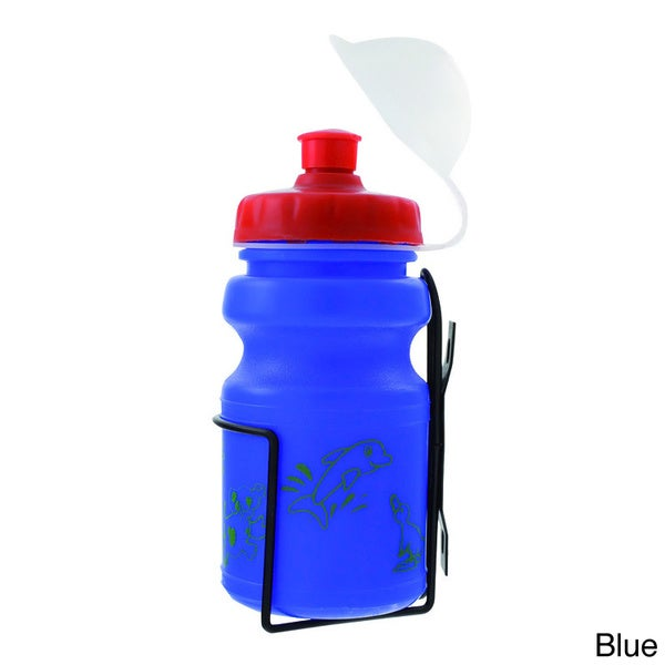 Ventura Children's 12 oz. Water Bottle and Cage Set