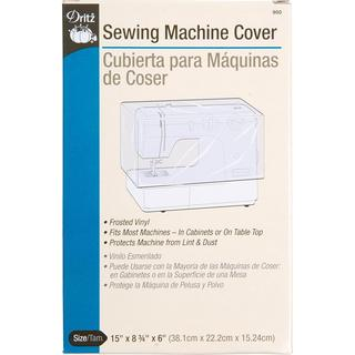 Sewing Macine Cover - 15 X8-3/4 X6 Frosted Vinyl