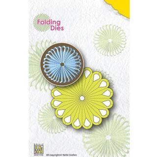 Nellie's Choice Folding Dies - Flower 1