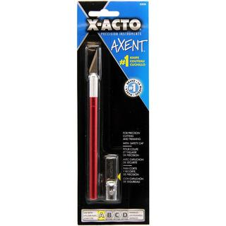 X-Acto AXENT Knife W/Cap - Red