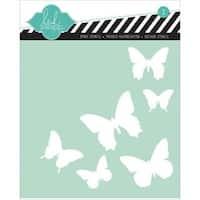 Stencils 6 X6  - Butterfly