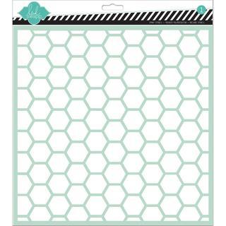 Stencils 12 X12 - Hexagon