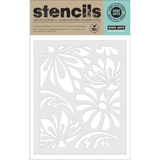 Hero Arts Stencils - Large Lotus Pattern