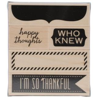 Hero Arts Mounted Rubber Stamps - Happy Thoughts