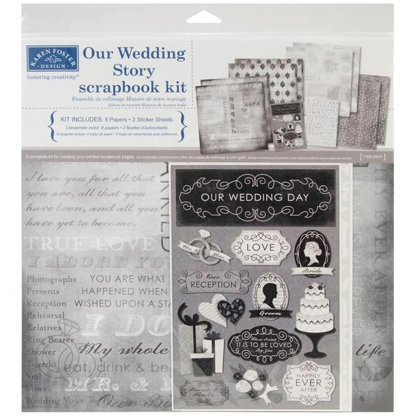 Wedding Scrapbook Kit: Shop Our Wedding Story Scrapbook Page Kit 12 X12