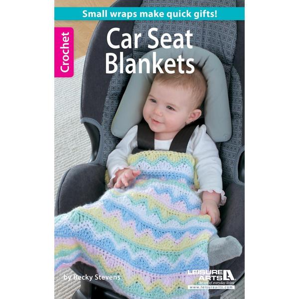 Shop Leisure Arts Crochet Car Seat Blankets Free Shipping On