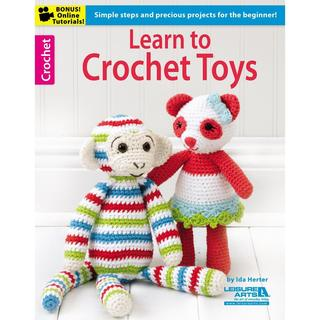 Leisure Arts - Learn To Crochet Toys