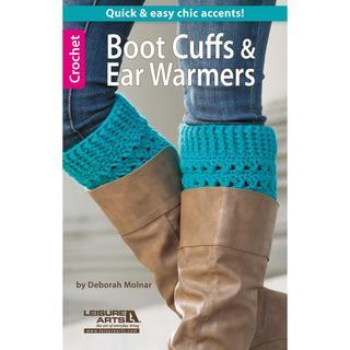 Leisure Arts - Boot Cuffs & Ear Warmers