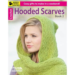 Leisure Arts - Hooded Scarves Book 2