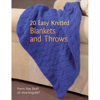 Martingale & Company - 20 Easy Knitted Blankets & Throws