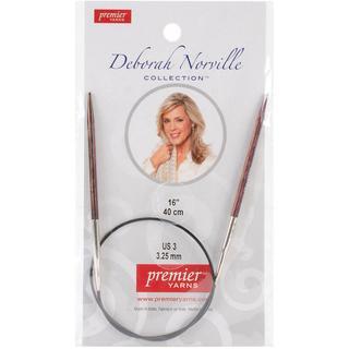 Deborah Norville Fixed Circular Needles 32 - Size 0/2mm