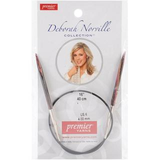 Deborah Norville Fixed Circular Needles 16 - Size 6/4mm