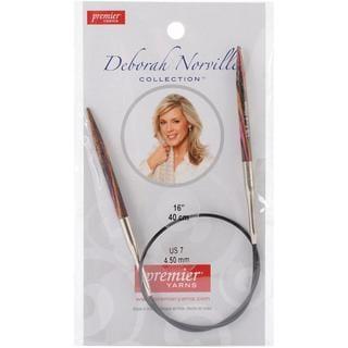 Deborah Norville Fixed Circular Needles 16 - Size 7/4.5mm