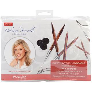 Deborah Norville Interchangeable 4, 5, 6 Needle Tip Set