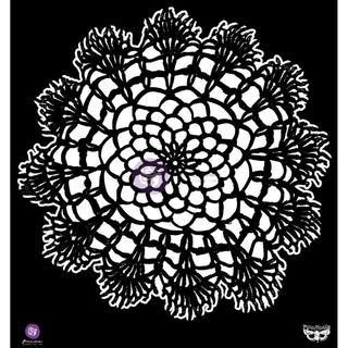 Elementals Stencil 12 X12  - Doily