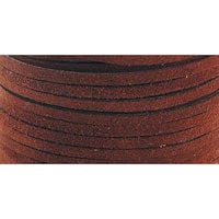 Suede Lace .125  Wide 25yd Spool - Medium Brown