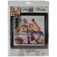 Bathing Beauties Counted Cross Stitch Kit - 12 X12  14 Count