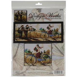 The Delivery Counted Cross Stitch Kit - 8 X22 14 Count