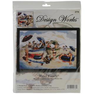 Water Lunch Counted Cross Stitch Kit - 14 X20 14 Count