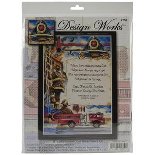 Call To Duty Counted Cross Stitch Kit - 11 X16 14 Count