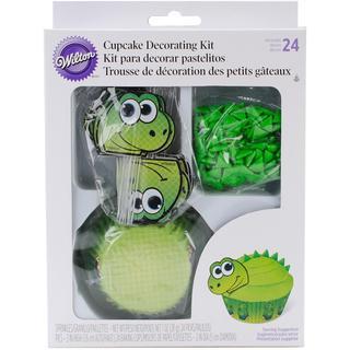Cupcake Decorating Kit Makes 24 - Dinosaur