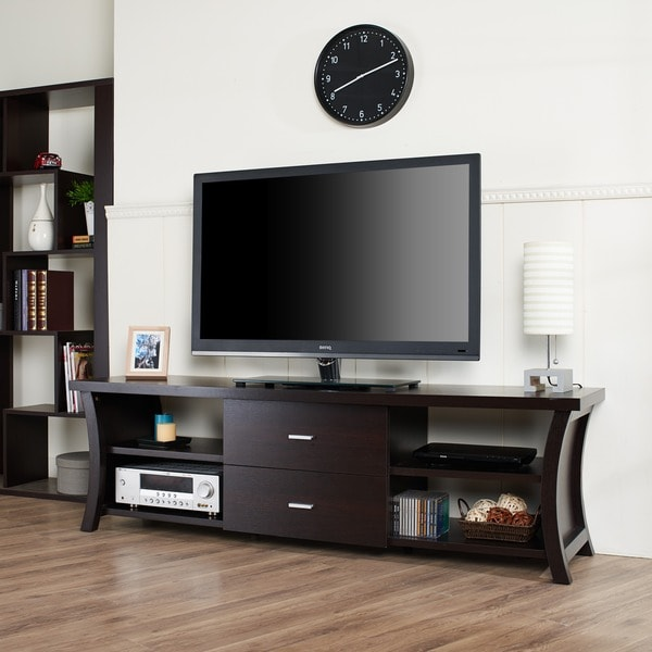 Furniture Of America Danbury Modern 2 Drawer Tv Console