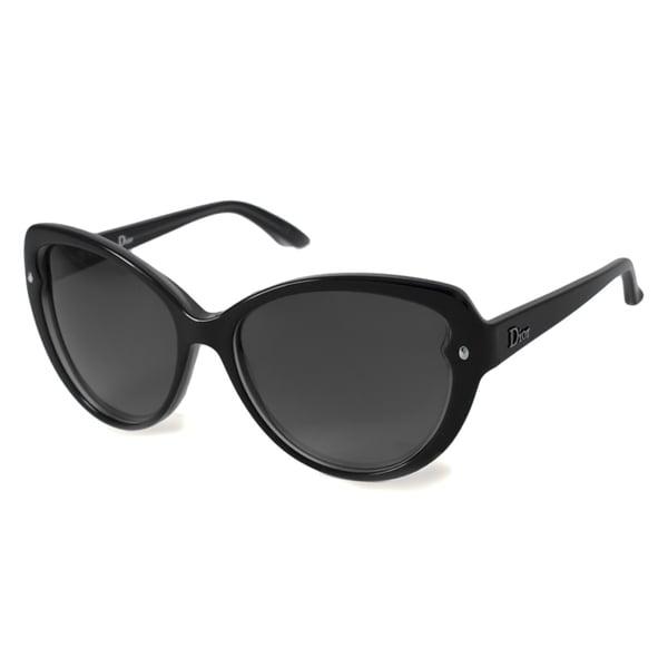 9b410e194cb Shop Christian Dior Women s Dior Pondichery 1 Cat-Eye Sunglasses ...