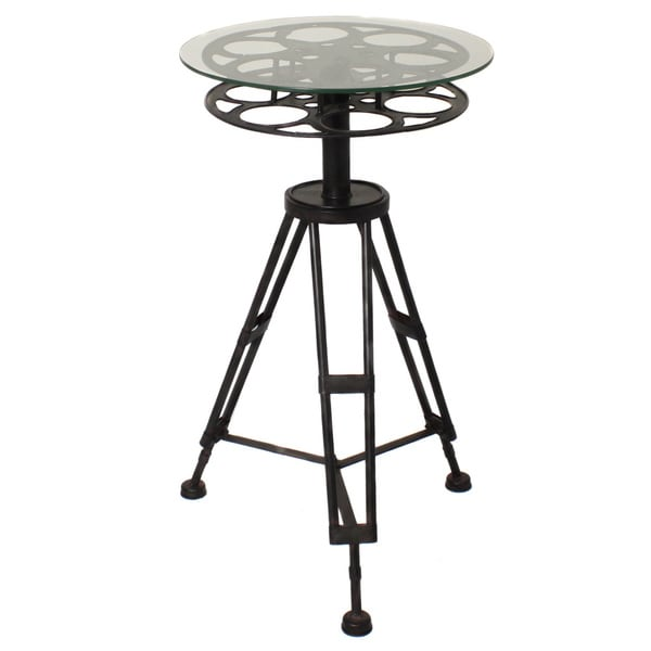 Round Top Hollywood Film Reel Table