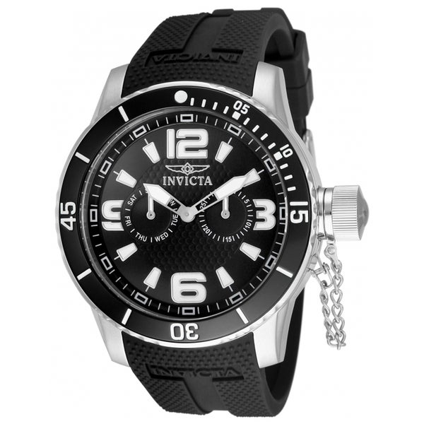 Invicta Men's Silicone Specialty Quartz Watch