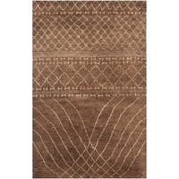 Safavieh Hand-knotted Loft Bronze New Zealand Wool Rug - 8' x 10'