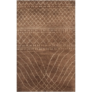 Safavieh Hand-knotted Loft Bronze New Zealand Wool Rug (9' x 12')