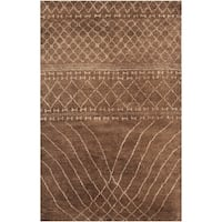 Safavieh Hand-knotted Loft Bronze New Zealand Wool Rug - 9' x 12'