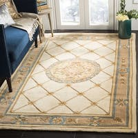 Gracewood Hollow Phillips Ivory/ Caramel Wool Rug (8' x 11')