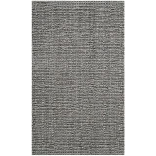 Safavieh Casual Natural Fiber Hand-Woven Light Grey Chunky Thick Jute Rug (2'6 x 4')