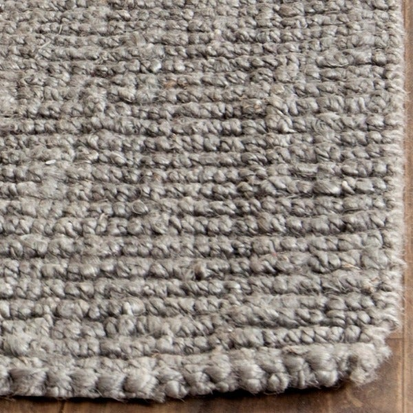 Shop Safavieh Casual Natural Fiber Hand Woven Light Grey