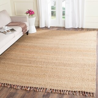Safavieh Casual Natural Fiber Hand-Woven Natural/ Multi Jute Rug (2'6 x 6')