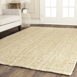 Safavieh Casual Natural Fiber Hand-loomed Ivory Jute Rug (10' x 14')